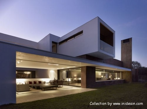 The house is Spanish architect DAHL&GHG design  (2)